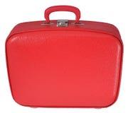 Roter Koffer Lizenzfreie Stockfotografie