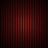 Roter Kohlenstofffaser-Webarthintergrund Stockbild
