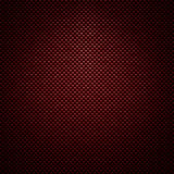 Roter Kohlenstofffaserhintergrund Lizenzfreie Stockbilder