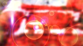 Roter kosmischer Hintergrund Lizenzfreies Stockfoto