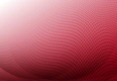 Roter Kurvenzusammenfassungshintergrund mit Wellenhalbtonkopienraum Vec lizenzfreie abbildung