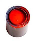 Roter Lack stockfoto