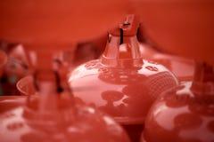 Roter Lampenschirm Lizenzfreie Stockfotografie
