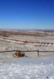 Roter Lebensraum-Managementbereich der Schlucht-wild lebenden Tiere außerhalb des Lander WY lizenzfreies stockbild