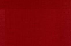 Roter lederner Hintergrund Stockfoto