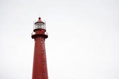 Roter Leuchtturm Stockbilder