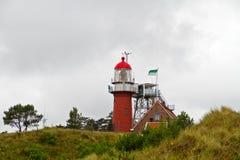 Roter Leuchtturm Lizenzfreies Stockfoto