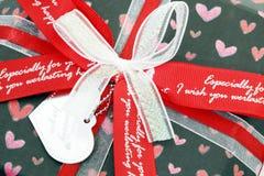 Roter Liebes-Kasten Stockbilder