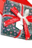 Roter Liebes-Kasten Stockbild