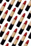 Roter Lippenstift Stockfotografie