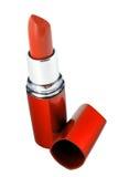 Roter Lippenstift Stockbild