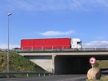 Roter LKW Lizenzfreie Stockfotos