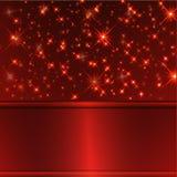 Roter Luxushintergrund Stockbilder