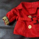 Roter Mantel Stockfoto