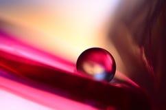 Roter Marmor und Glas Lizenzfreie Stockbilder