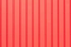 Roter Metallhintergrund Lizenzfreies Stockfoto