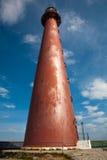 Roter Metallleuchtturm Lizenzfreie Stockfotos