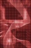 Roter moderner Hintergrund Lizenzfreies Stockfoto