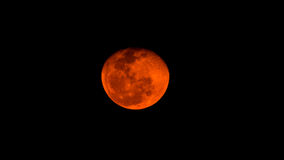 Roter Mond Lizenzfreies Stockbild