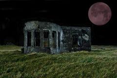 Roter Mond lizenzfreie stockfotos
