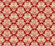 Roter Muster-Hintergrund Stockbild