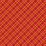 Roter Musterhintergrund des Gewebes und des Schottenstoffs lizenzfreie abbildung