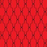 Roter nahtloser Hintergrund vektor abbildung