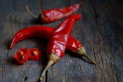 Roter Paprika-Pfeffer stockbilder