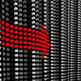 Roter Pfeil Stockfotos