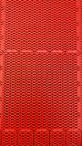 Roter Plastikhintergrund Lizenzfreie Stockfotografie