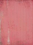Roter Polkapunkthintergrund Stockfotografie