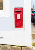 Roter Postbox Stockfotos