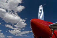Roter Propeller Lizenzfreies Stockfoto