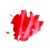 Roter Punkt Stockfoto