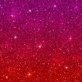 Roter purpurroter Funkelnhintergrund Vektor Stockfotos