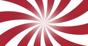 roter Radialstrahl des Schmutzes der Weinlese 4k zeichnet Hintergrund stock video