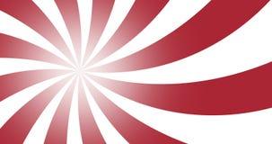 roter Radialstrahl des Schmutzes der Weinlese 4k zeichnet Hintergrund stock video footage