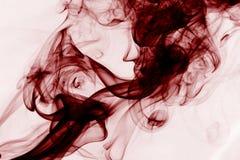 Roter Rauch Stockfoto