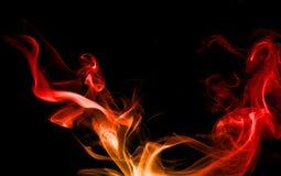 Roter Rauch. Stockbilder