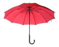 Roter Regenschirm Stockbild