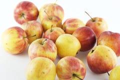 Roter reifer Apfel Stockbild