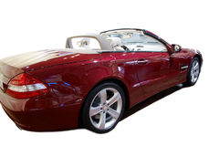 Roter Roadster stockfotografie