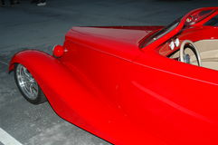 Roter Roadster Stockfoto