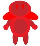 Roter Roboter Lizenzfreie Abbildung