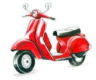 Roter Roller Lizenzfreies Stockbild