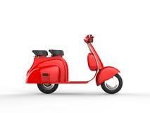 Roter Roller - Seitenansicht Stockfoto