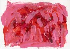 Roter rosa Acrylhintergrund Lizenzfreie Stockfotografie