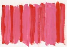 Roter rosa Acrylhintergrund Lizenzfreie Stockfotos