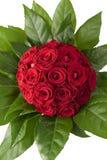 Roter Rose-Blumenstrauß Lizenzfreie Stockbilder