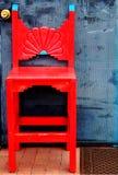 Roter südwestlicher Stuhl Lizenzfreies Stockfoto